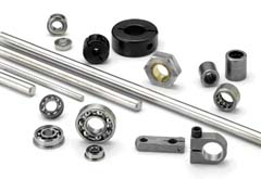 Bearings, Shafts, Clamps and Hubs