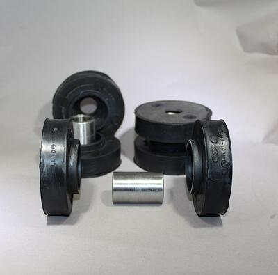 two-piece engine mounts