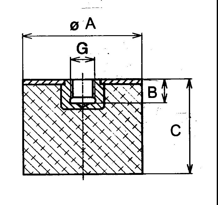 Sandwich Mounts (Metric Thread) Type 5 product image
