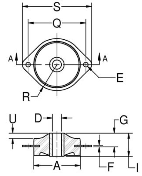 Plateform Mounts (Diamond) product image