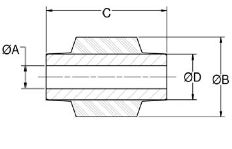 Center Bonded Bushings product image