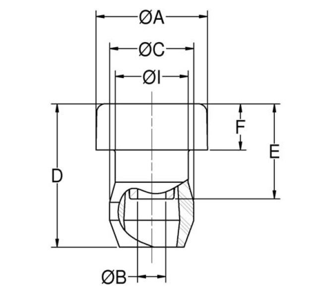 Center Bonded Mounts - CB-1180 Series product image
