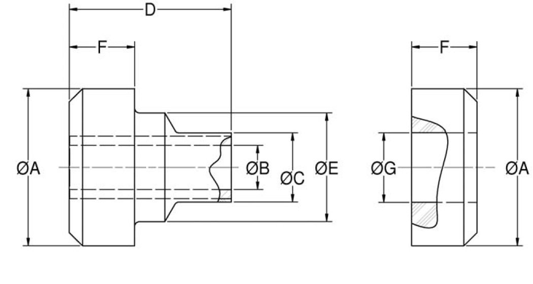 Two-Piece Mounts - CB-2200 Series product image