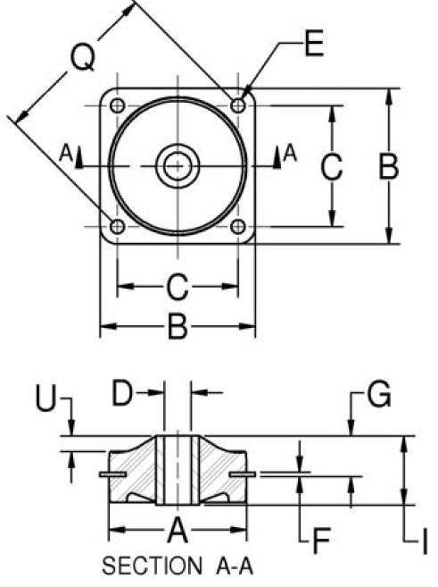 Plateform Mounts (Square) product image